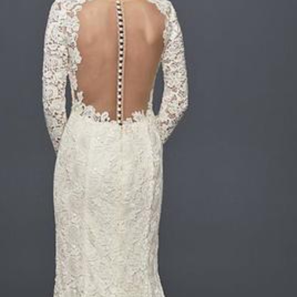 Long Sleeve Lace Wedding Dress Nwt
